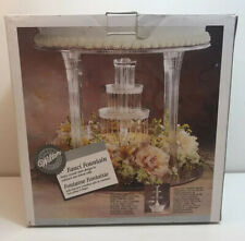 Wilton Fanci Fountain water fountain for tiered cakes wedding's table top party