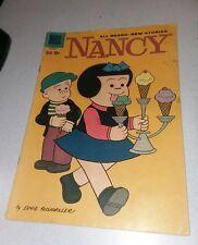 Nancy #169 dell comics 1959 early appearance peanuts 1st print fritzi Ritz art