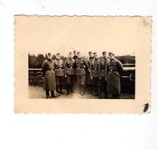 Foto Soldaten Gruppenfoto   2 WK