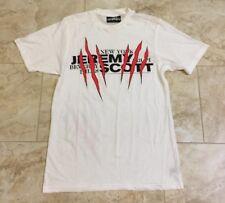 Jeremy Scott White T-Shirt Size Men's Medium NEW