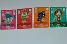 Animal Crossing Amiibo Cards Series 3/ 209 Wendell 211 Grams 212 Timmy 213 Digby