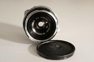Carl Zeiss Distagon 4/35mm schwarz für Contarex