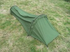 Goretex hooped Bivvy Bag / tent. Survival brand. Olive Green Bivi. Used.