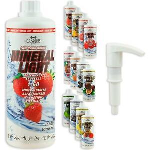 CP SPORTS Getränke Konzentrat Vital Drink Sirup Elektrolyte Mineral Light +PUMPE