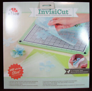 Slice InvisiCut 12x12 Sheets (4-pack) NEW, #38005, Cutable, Crafts, Scrapbooking