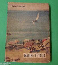 Marine d'Italia - Prima Edizione Touring Club Italiano 1951