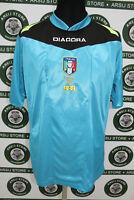 Maglia calcio ARBITRO TG L shirt trikot maillot jersey camiseta