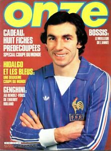 magazine ONZE année 1982