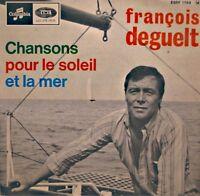 ++FRANÇOIS DEGUELT chansons pour le soleil et la mer EP COLUMBIA comme la mer++