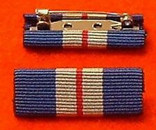 Queens Gallantry Medal Ribbon Bar Pin QGM Medal Ribbon