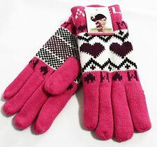 Winter ladies Gloves  Women Mitten Warm Knitted Super Soft with Fleece lining