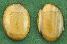 ONE 25x18 Oval Tigereye Cabochon Gem Stone Gemstone