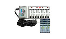 8 Bay AAA/AA Charger + 16-Pack AA 2300mAh Acculoop NiMH Low Discharge Batteries