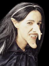 Hexennase Hakennase mit Warze Witch Nose mit hautfreundlichem Kleber