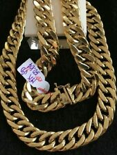 GoldNMore: 18K Gold Men's Necklace 20 inches chain FZPSG