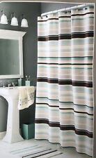 Home Trends Shower Curtain 70� X 72� City Stripe