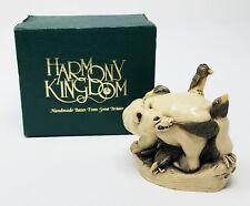 Harmony Kingdom Murphy'S Last Stand Polar Bear And Penguin Nib