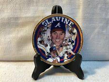 "Tom Glavine Atlanta Braves Sports Impressions Sports Superstar 4"" MLB Plate"