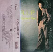 "K 7 AUDIO (TAPE)  RICHARD HELL  ""R.I.P""  (MADE IN U.S.A)"