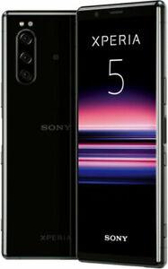 Sony Xperia 5 - 128 Go - Noir (Désimlocké) (Double SIM)