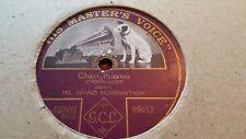 CHOPIN CHANT POLONAIS MR BENNO MOISEIWITSCH HMV 05612