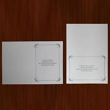 20 Mixed Text Only Birthday Card Making Inserts with Verses Crafting