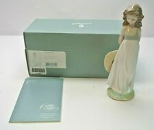 """Lladro #8114 """"Natural Beauty"""" Girl W/Sun Hat 2005 Special Events Figurine 9"""""""