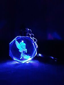 led keychain tinkerbell
