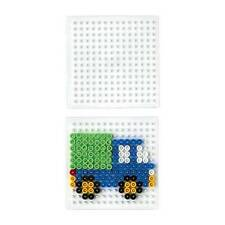 Hama beads cuadrado pequeño único Perforado 220