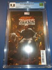 Marvel Zombies Resurrection #4 Skan Variant CGC 9.8 NM/M Gorgeous Gem Wow