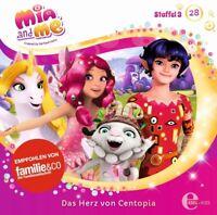 MIA AND ME-STAFFEL 3, 28: DAS HERZ VON CENTOPIA (ORIGINAL HÖRSPIEL TV) CD NEU