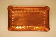 Vintage Arts and Crafts Copper Ashtray     #6010