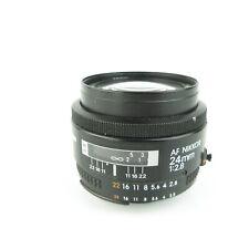 Nikon AF Nikkor 1:2.8 24mm Objektiv lens