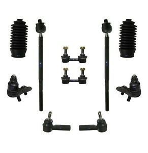 10 New Pc Steering Kit for Chevrolet Geo Toyota Tie Rod End Sway Bar Ball Joints