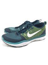 Nike Men Free Train Light Weight Shoes Versatility Size 13 Green Sneaker
