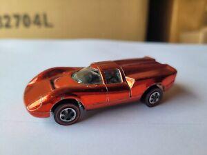 Hot Wheels 1969 REDLINES - LOLA GT70 [SPECTRFLAME RED] EXCELLENT LOOSE USA