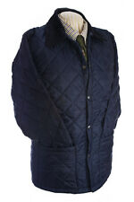 GENTS  QUILTED JACKET NAVY SHOOTING WALKING RIDING SIZES XS-XXXL NEW
