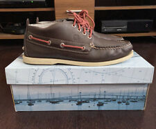 Sperry Top-Sider Boat Shoes A/O Work Boot Dark Brown Brand New UK Mens Size 8