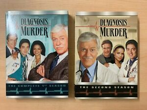 B5 DIAGNOSIS MURDER Seasons 1 & 2 DVD Boxed Sets CBS 1993 Great Condition!
