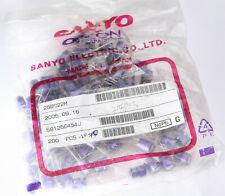 NEW X 10 pcs. Sanyo 25V 22uF OScon OS OS-CON Organic Audio Capacitor Japan MIJ