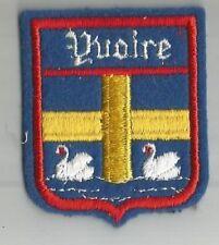 ECUSSON A COUDRE YVOIRE 74 HAUTE SAVOIE CYGNE 6.5X5.2 CM