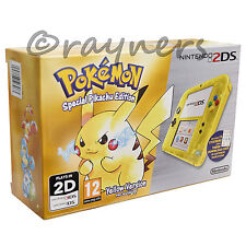 Brand New | Nintendo 2DS Limited Edition Yellow Console: Pokemon Pikachu Edition