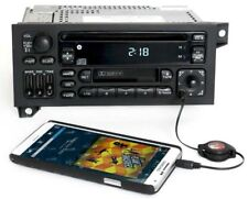 Jeep 1997 Cherokee RAZ Radio AM FM CD Cassette Player w Aux Input No SW Controls