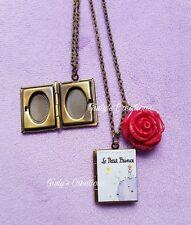 Collana IL PICCOLO PRINCIPE portafoto le petit prince book stelle anime rosa