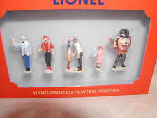 Lionel 6-24124 Carnival People Pack O 027 MIB New Pewter Hand Painted 5 Pieces