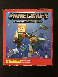 Panini Minecraft Treasure Sticker Collection - Booster Box 50