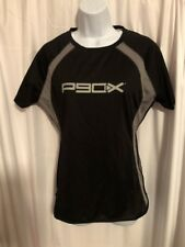 Beach Body P90X Workout Jersey Shirt Women's  Adult Size M