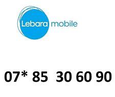 LEBARA GOLD  MOBILE PHONE NUMBER VIP BUSINESS EASY DIAMOND PLATINUM SIM CARD