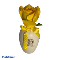 💕 HALLMARK BLOOMING EXPRESSIONS THANK YOU BEING FRIEND YELLOW OPENING FLOWER