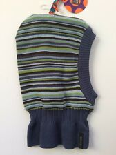 Balaclava 6-12month cotton blend stripe helmet